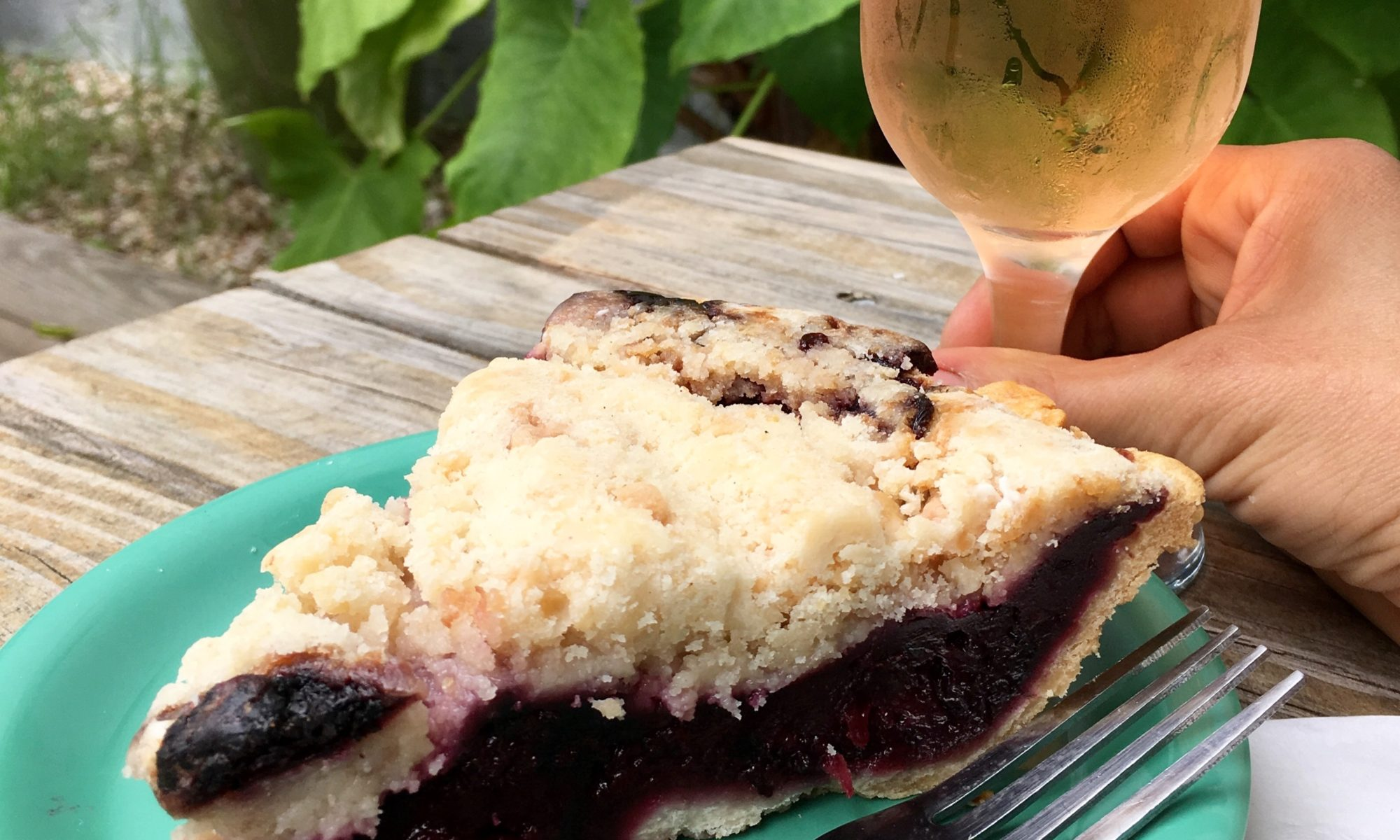Pie and conversation at Cherrywood Coffeehouse Austin