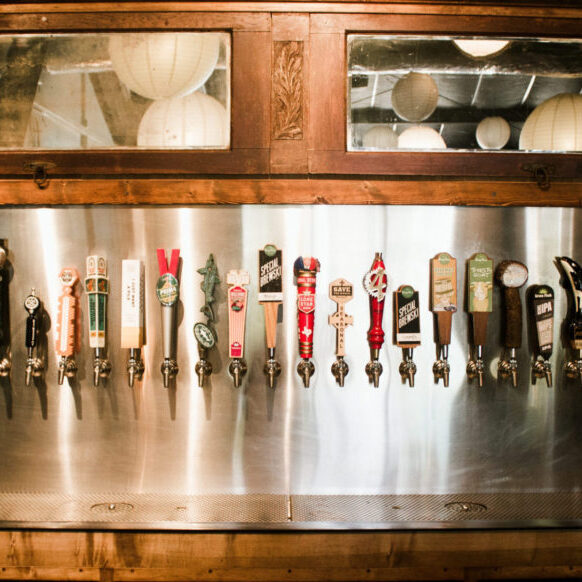 Wide Selection Of Beer On Tap At Cherrywood Coffeehouse