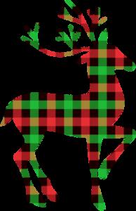 buffalo-plaid-deer