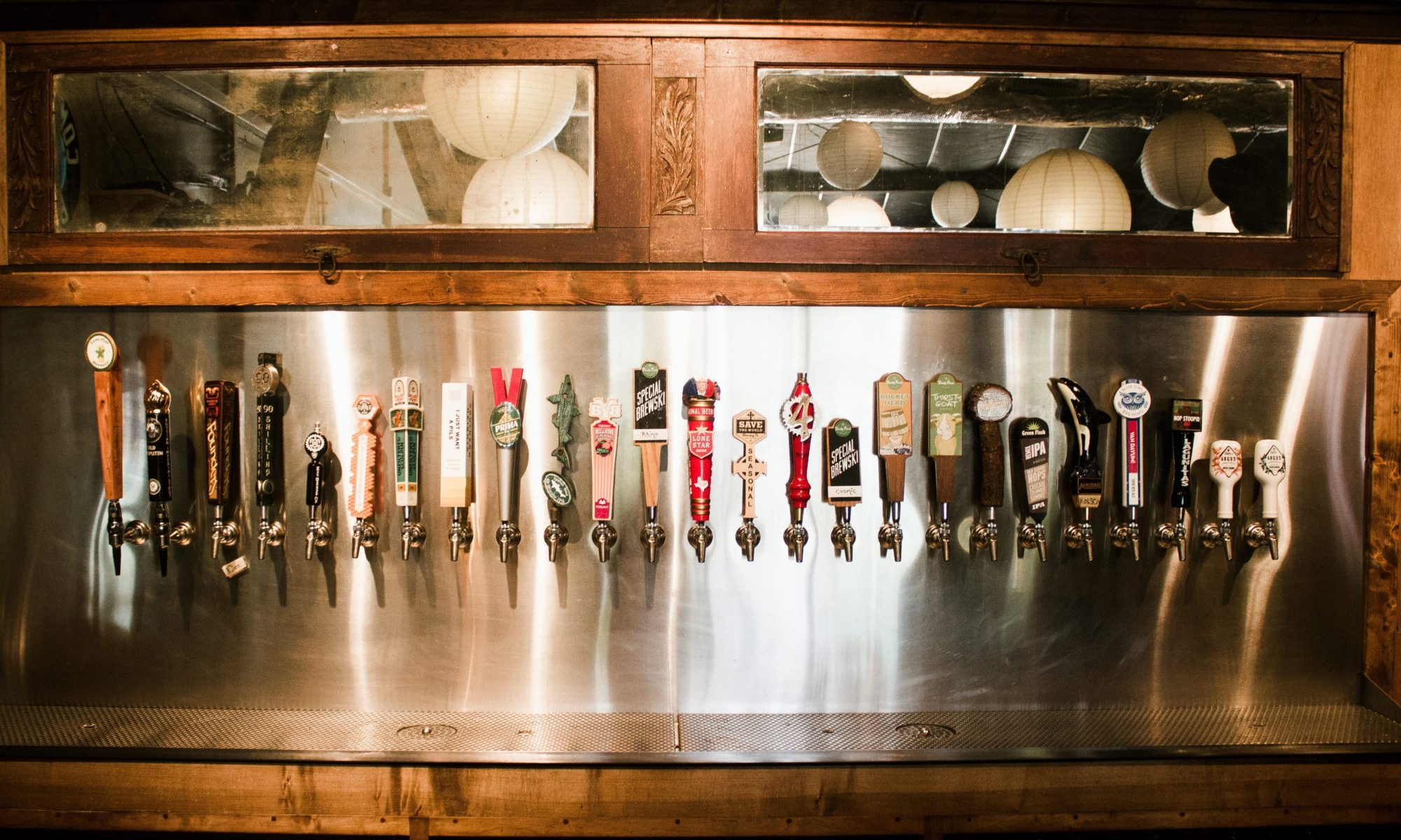 Photo Of Beer Tap Selection At Cherrywood