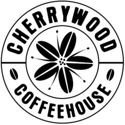 Cherrywood Coffeehouse Round Logo