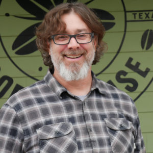 Ryan Marks is the co-owner of Cherrywood Coffeehouse